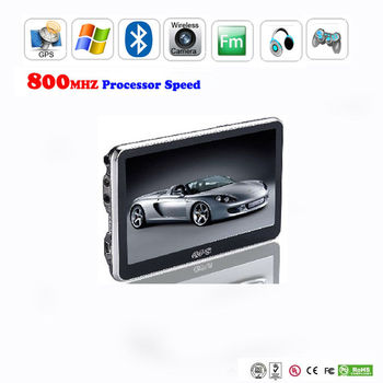 "4.3"" touch screen gps navigation with factory price"