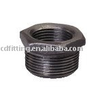 galvanized black male and female threaded Bushing malleable cast iron pipe fittings