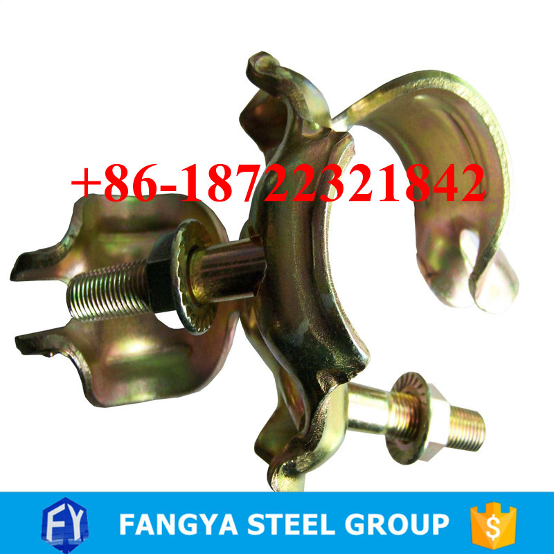 trade assurance supplier ! double scaffolding clamp scaffolding pressed coupler