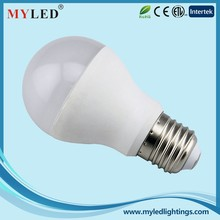 Factory Promotion Hot Selling AC220-240V 580lm Aluminum+Plastic 7w Led Bulb E27 Led Light Bulb Camera