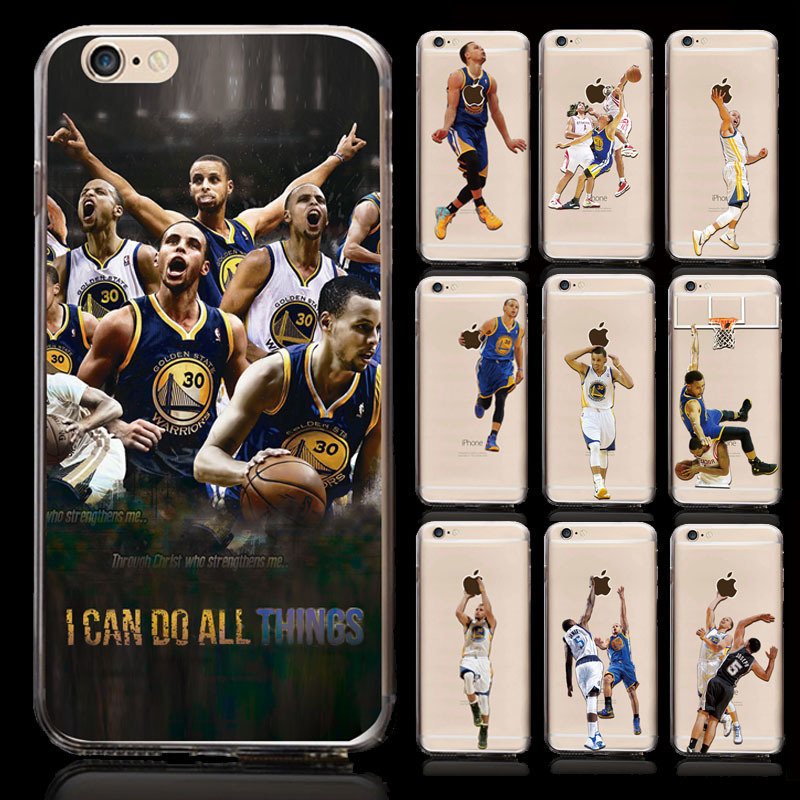 wholesale NBA star phone case hard plastic phone cover for iphone 6/6plus basketball player phone case