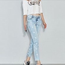 The new arrival spring show thin cowboy feet pants render women pants