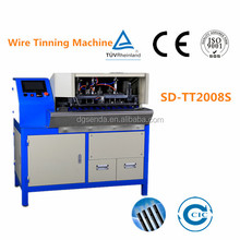 CE certificated Automatic Cable Stripping Twisting Soldering And Cutting Machine (SD-TT2008AS)