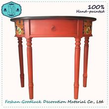 2017 New Console Table Cheap Solid Philippine Wood Furniture