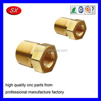 OEM Brass Inverted Flare Fittings Parts, Valve parts Brass Plumbing Fittings Parts