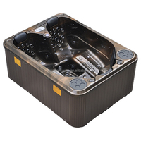 3 persons air jets outdoor spas JCS-33 outdoor spa