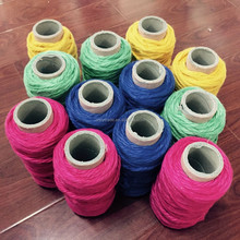 recycled cotton poly mop dye yarn ball