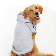 Wholesale Simple Design Pet Dog Clothes Hot Selling Pure Color Dog Coat Dog Hoodie
