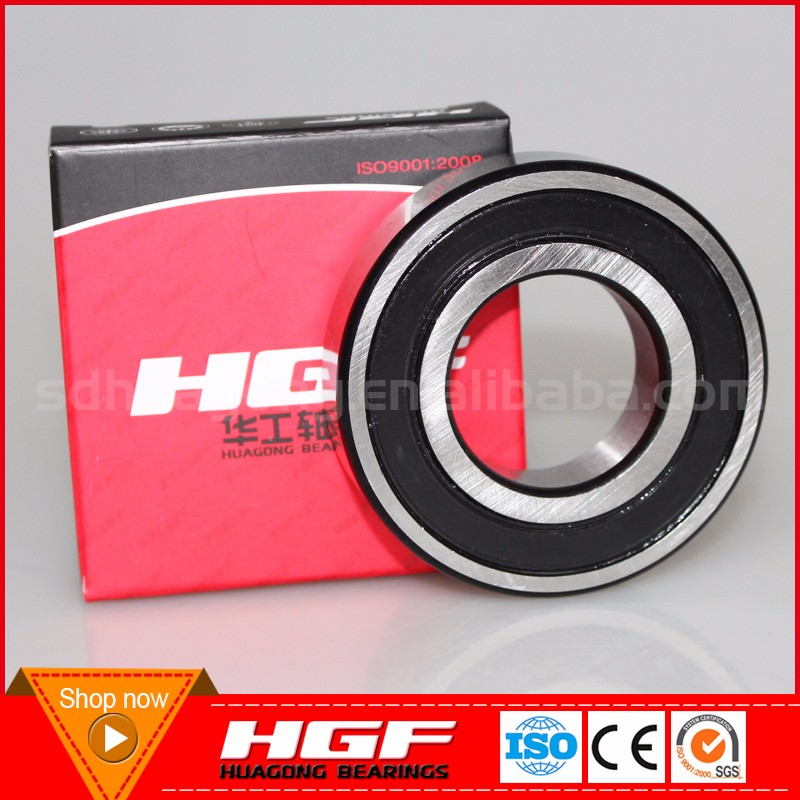 High precision sealed waterproof deep groove ball bearing for water pump bearing