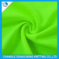 polyester single jersey sports fabric for t-shirt