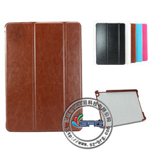 2013 New arrival Crazy Horse pattern leather case for ipad air, for ipad air case