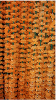 Artificial marigold flowers garland
