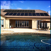 Factory direct sale ras system swimming pools sales EPDM Swimming Pool Solar Heating Collector