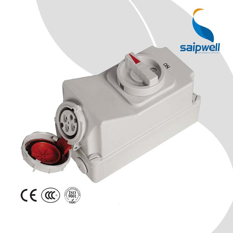 SIAPWELL Electrical 4 Pin IP67 Travel Waterproof mechanical interlock ac contactors