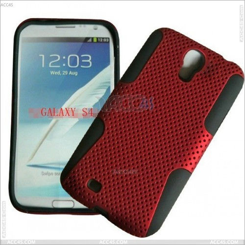 PC Silicone Hard Case 2 in 1 for Samsung Galaxy S4 i9500 P-SAMI9500HCSO006