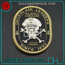 Factory Military Metal 3D Skull Custom Challenge Coin,Coin Die