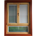 Industrial Sound proof double glazed mosquito net casemnet window