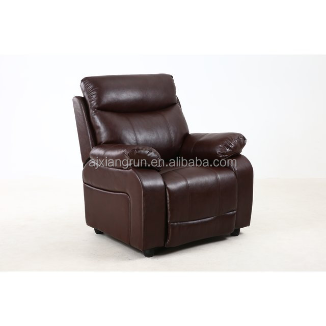 XR-8093 Luxury leather automatic recliner sofa single chair,push back sofa