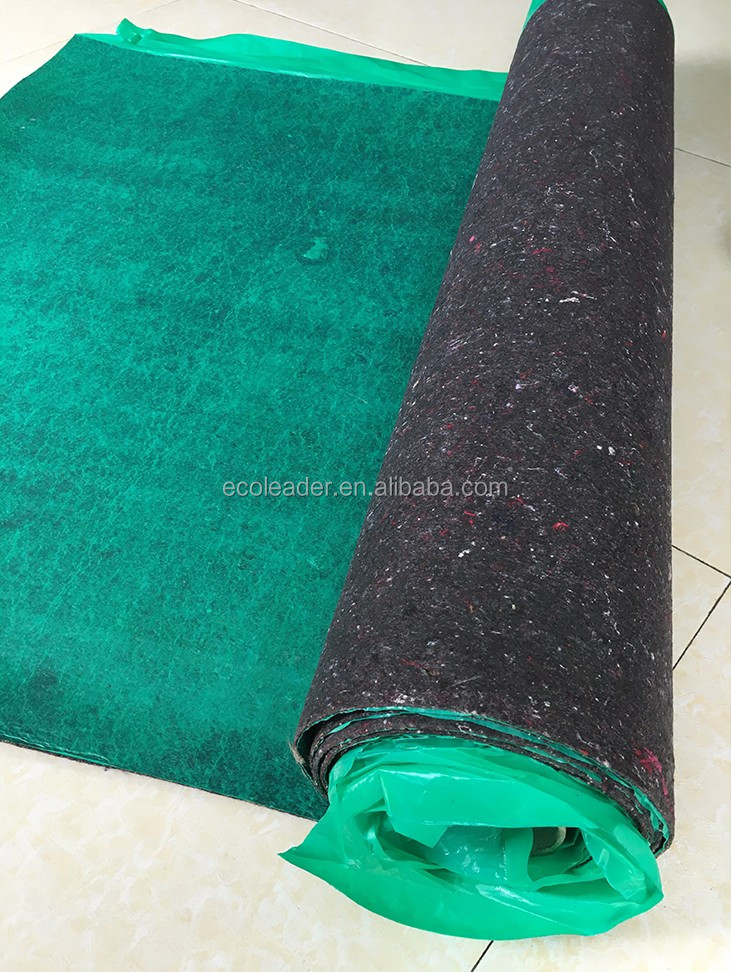 Cheap wholesale laminated nonwoven felt underlay fabrics