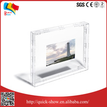 customized plastic/perspex acrylic photo frame supplier