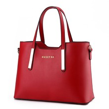 Customized Hand Bag PU Leather Colorful HandBag For Women