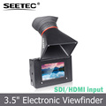 "Seetec SDI Electronic Viewfinder 800x480 resolution Peaking Focus Assist 3.5"" lcd hdmi for HDSLR cameras"