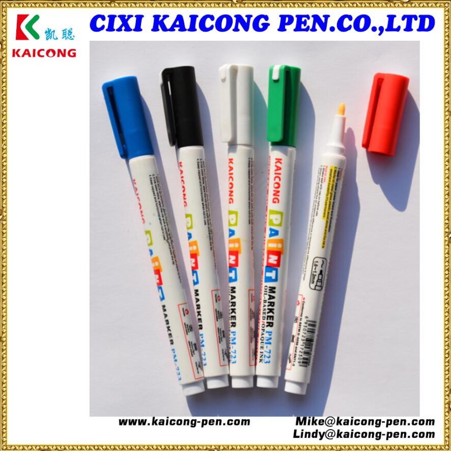 iPOSCA 3mm bullet tip oil based,Valve Action Paint marker/DoodleDeco marker pen /waterproof marker pen
