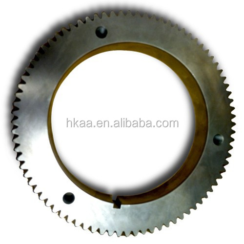 Professionally Manufacturer Forged Heavy Duty Steel Crankshaft Gear With Crank Lock Parts