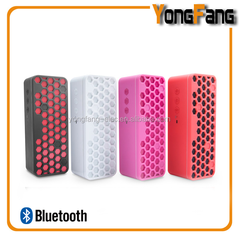 portable cube stereo music speaker bluetooth