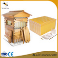 7 frames honey flow bee hive