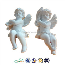 POPULAR resin white angel shelf sitter