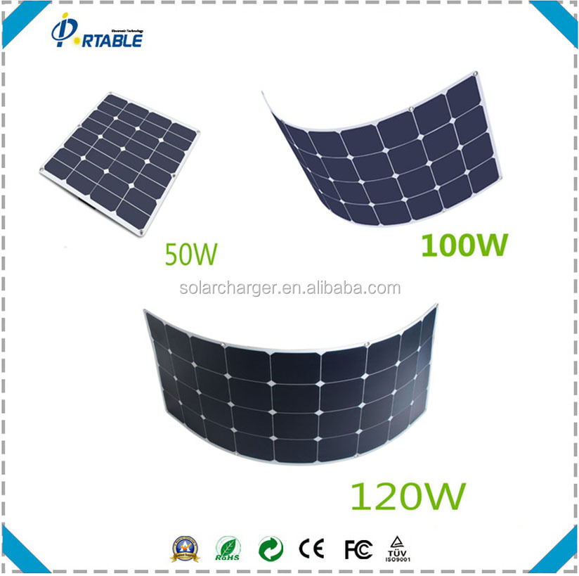 18v Flexible Monocrystalline Silicon Solar Cell