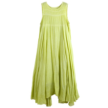 Trendy Women Summer Clothing Sleeveless Pure Cotton Bridesmaid Wedding Sundresses Maxi Dress