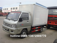 factory supply 4x2 FOTON 1 ton gasoline mini van