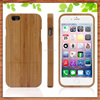 natural handmade bamboo wood mobile phone bags& cases for iphone 6s, wood bamboo hard case cover for iphone 6s