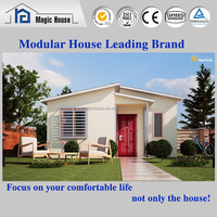 Cheap modern prefab villa easy assembly economic prefab modular house