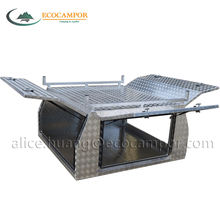 Aluminum Checkplate Truck Tool Box For Ute