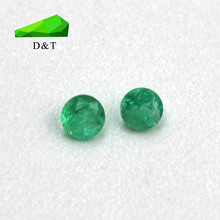 natural unheated small size rough AB quality emerald loose gemstone for jewelry making