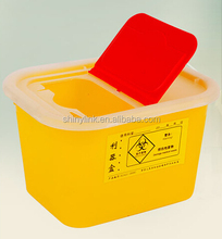 Plastic Needle Sharps Disposal Container