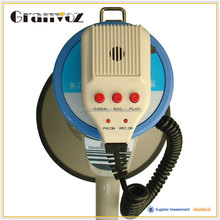 Portable Handheld Megaphone With Music With siren with recording