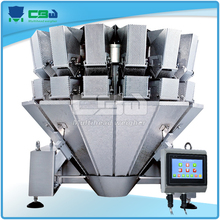 Small Granule Products Automatic Packaging System Electronic 100kg Weighing Scales/ Head Weigher