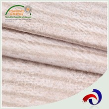 2017 wholesale 100% heavy cotton elastic bag jersey knit fabric