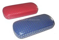 cute korean contact case/dotted glasses case/eco-friendly contact lens case