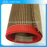 Latest Design Superior Quality teflon coated open mesh belt