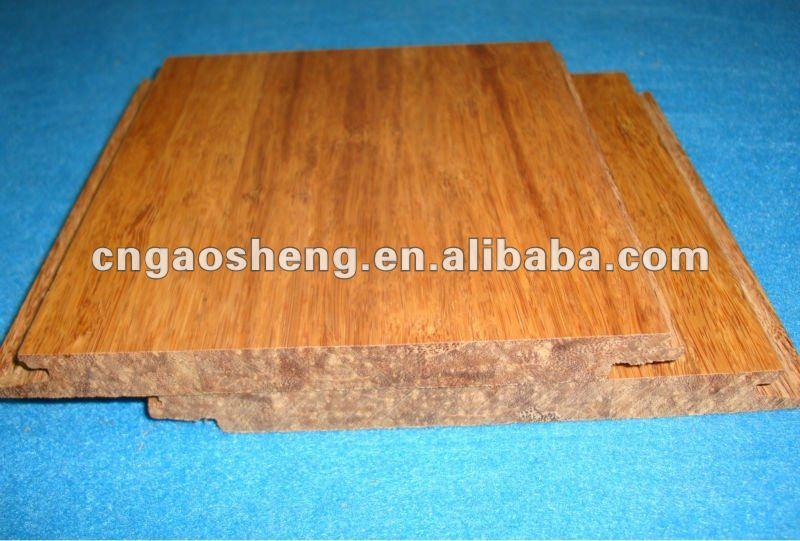 Gris suelo de bamb tejido filamento suelo de bamb - Suelo de bambu ...