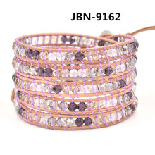 Fashion 5 wrap bracelet wholesale JBN-9162