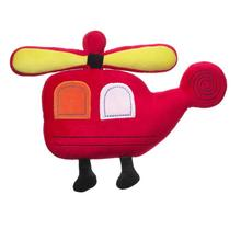 EN71 passed stuffed mini plane toy kids plush helicopter