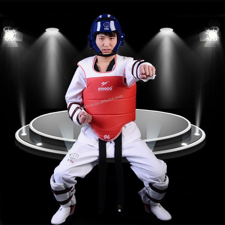 5pcs Taekwondo Training Equipment Body Safe Guard