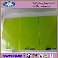 5mm 6mm painted safe glass partition for kitchen