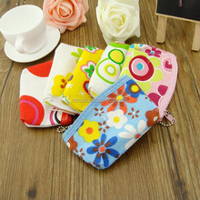 Hot selling coin purse/cell phone bag canvas bag wholesale LB-8612